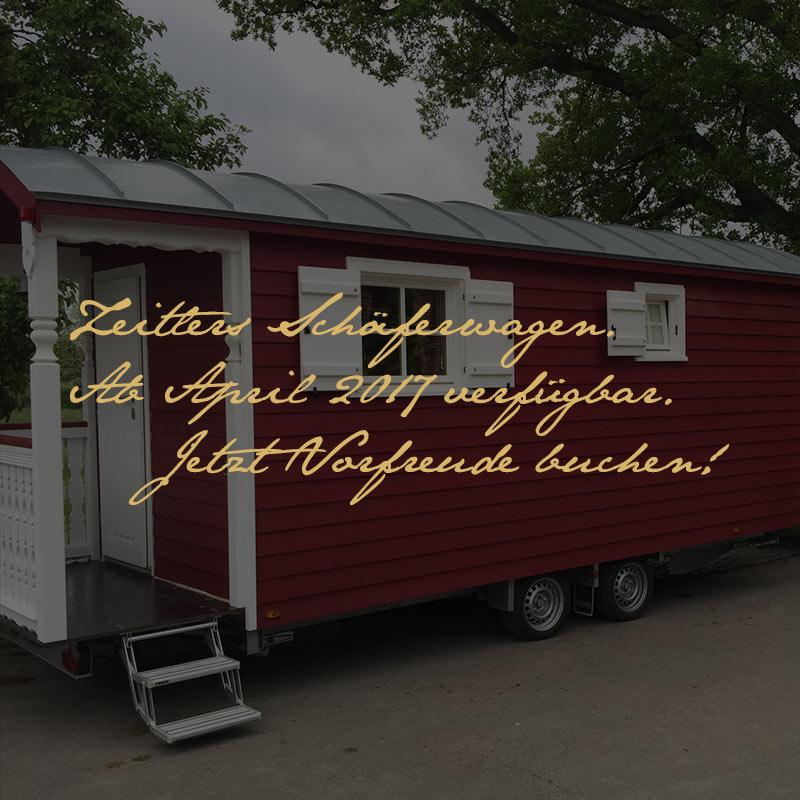 Schlafen in Zeitlers Schäferwagen - ihr Hotel in Marsberg